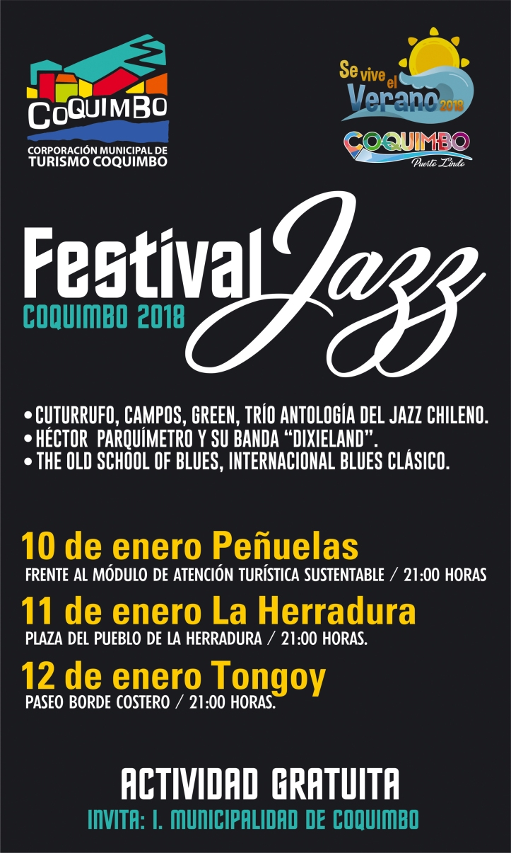 Festival de Jazz Coquimbo 2018