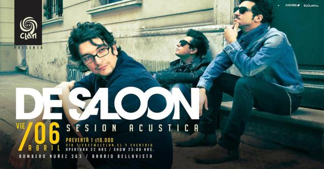 de saloon acustica